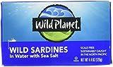 Wild Planet Sardine Spring Water - 4.38 oz