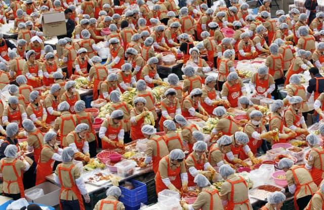 Annual Kimchi Festival