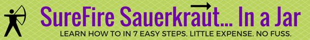 SureFire Sauerkraut... in a Jar | makesauerkraut.com
