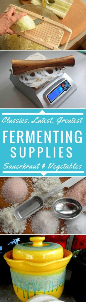 Fermenting supplies for sauerkraut and vegetables. | makesauerkraut.com