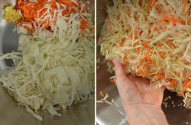 Ginger Garlic Sauerkraut Recipe | makesauerkraut.com