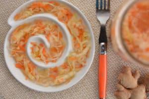 Ginger Garlic Sauerkraut Recipe | makesauerkraut.com