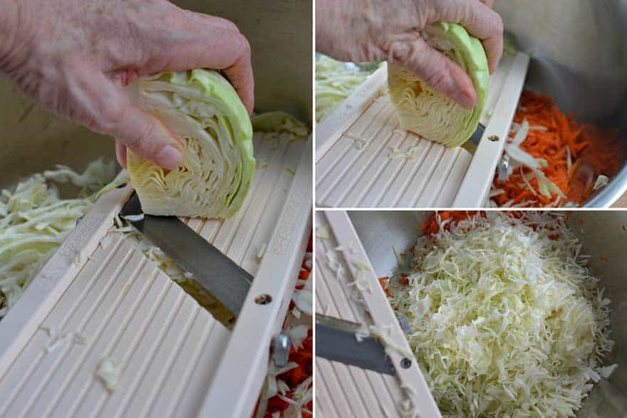 The mandolin. Makes slicing thin ribbons of cabbage a joy. | MakeSauerkraut.com