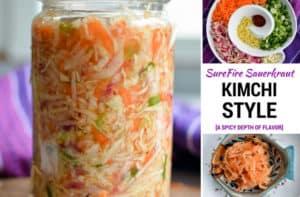 Kimchi Style Sauerkraut Recipe. | makesauerkraut.com