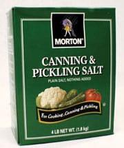 Is pickling salt the best salt for sauerkraut. | makesauerkraut.com