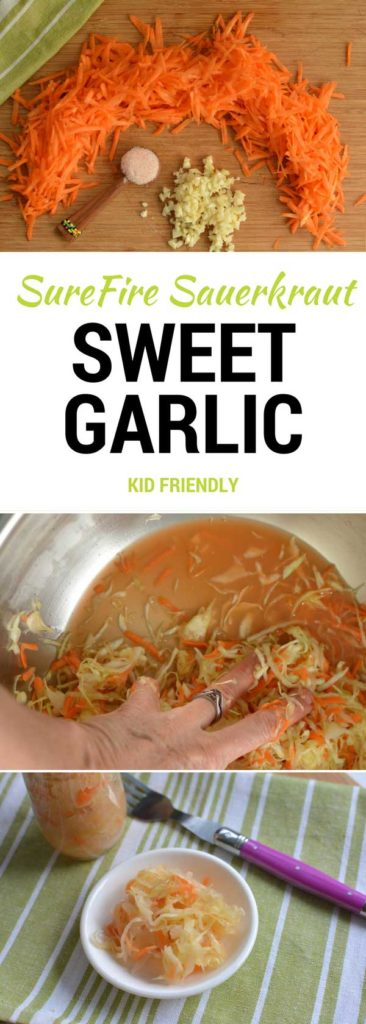Sweet Garlic Sauerkraut Recipe. | makesauerkraut.com