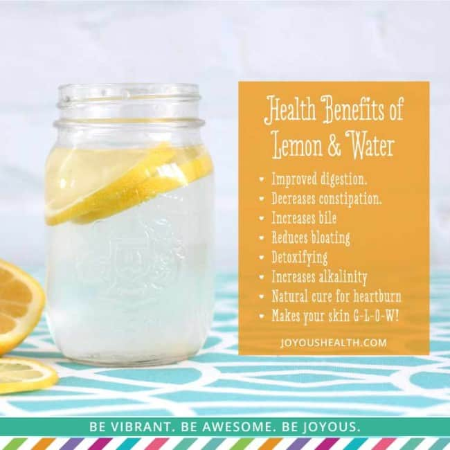 Add gelatin to lemon water for healthy skin. | makesauerkraut.com