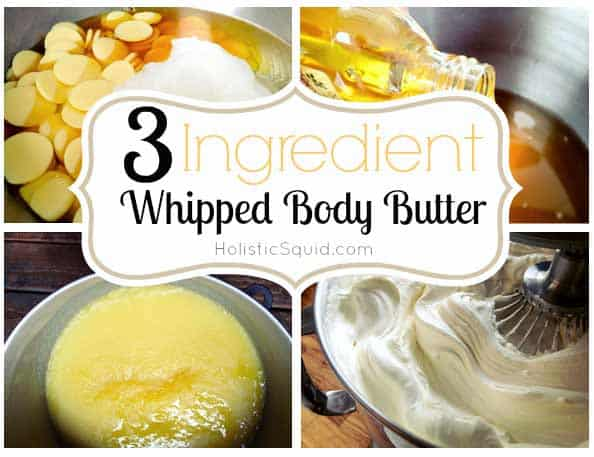 Whipped body butter for healthy skin. | makesauerkraut.com