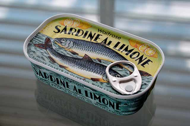 Eat sardines for healthy skin. | makesauerkraut.com