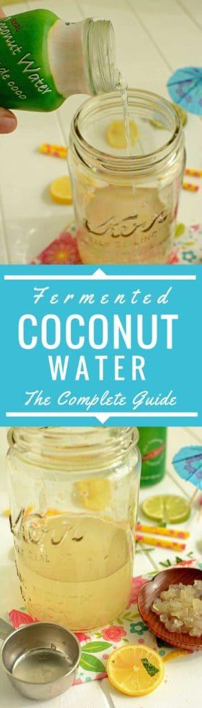 Fermented Coconut Water. | makesauerkraut.com