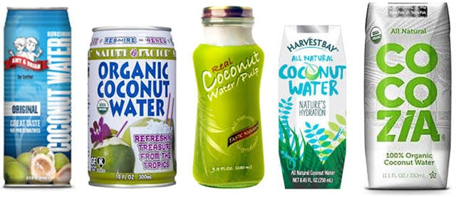 Good brands of coconut water for making fermented coconut water. | makesauerkraut.com