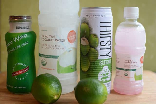 Coconut water brands to taste and ferment. | makesauerkraut.com