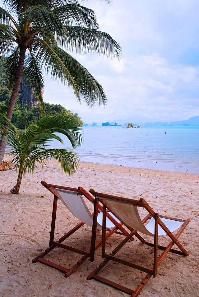 Sipping coconut water in the tropics. | makesauerkraut.com