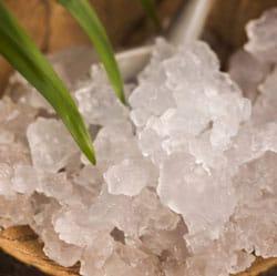 Water kefir grains for fermenting coconut water. > makesauerkraut.com