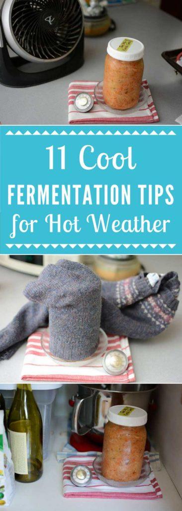 11 Cool Fermentation Tips for Hot Weather. | makesauerkraut.com