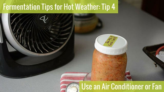Fermentation Tip 4: Use an Air Conditioner or Fan. | makesauerkraut.com