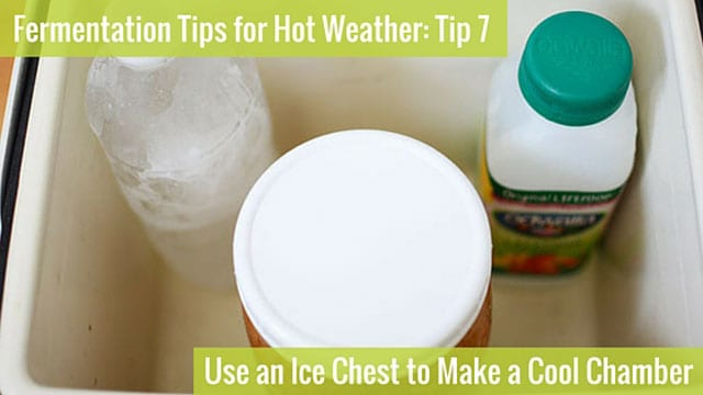 Fermentation Tip 7: Use an Ice Chest to Make a Cool Chamber. | makesauerkraut.com