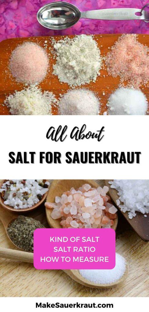All About Salt For Sauerkraut