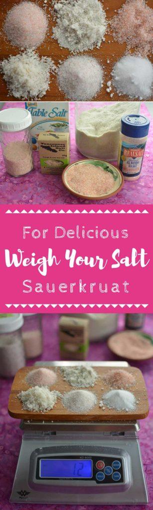 Weigh your salt for the best ferment. | makesauerkraut.com