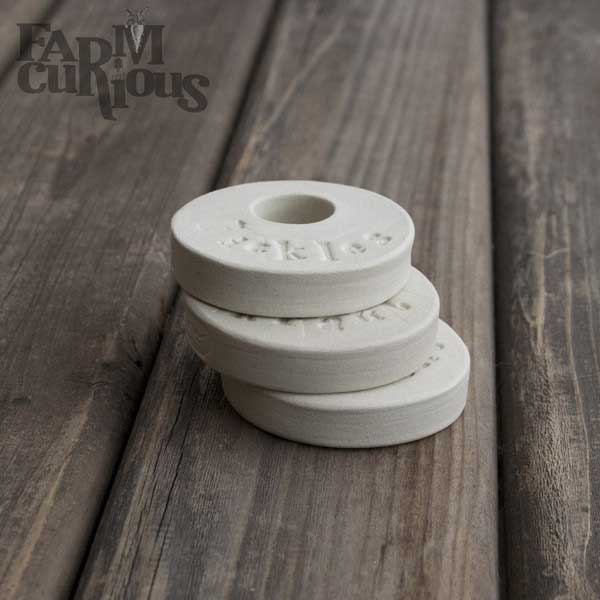 Farm-Curious fermentation weights. | makesauerkraut.com