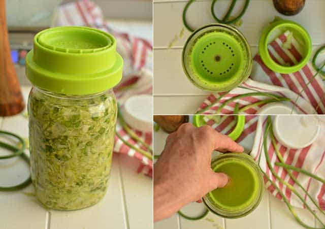 Making sauerkraut with the Ultimate Pickle Jar. | makesauerkraut.com