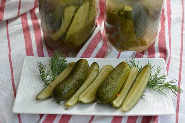 Fermented pickles pass the taste test. | makesauerkraut.com