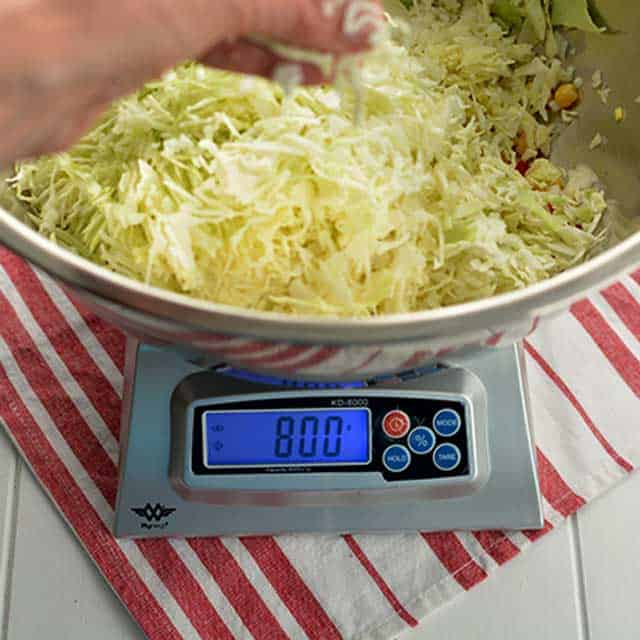 How to use the KD8000 My Weigh Digital Scale. | makesauerkraut.com