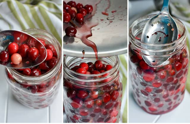 Pickled Cranberries. | makesauerkraut.com