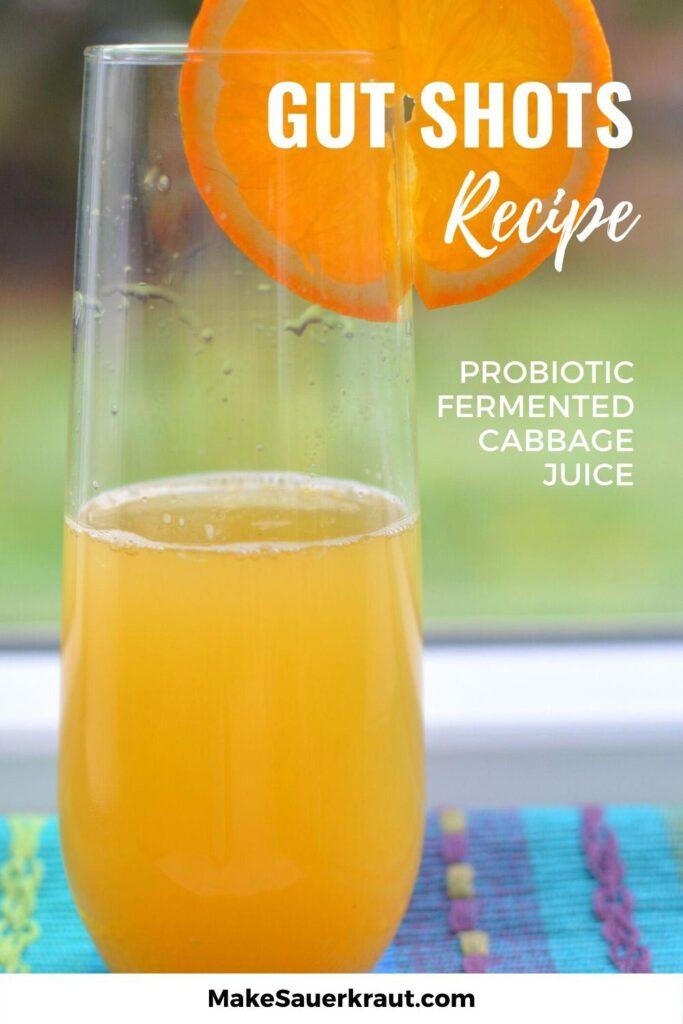 Gut Shots (Fermented Sauerkraut Juice) Recipe