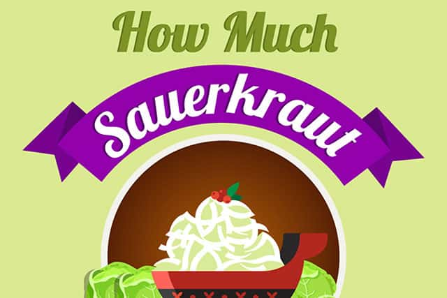 How much sauerkraut to eat daily? | makesauerkraut.com