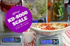 MyWeigh KD-8000 digital scale review. | makesauerkraut.com