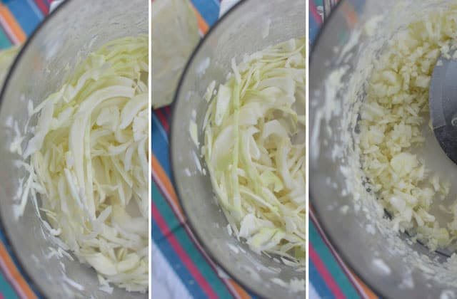 Ways to slice cabbage for sauerkraut - Food Processor. | makesauerkraut.com