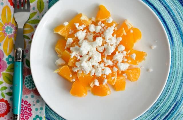 Add your feta cheese to your sauerkraut salad. | makesauerkraut.com