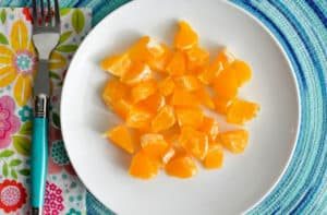 An orange adds a nice sweetness to this sauerkraut salad. | makesauerkraut.com