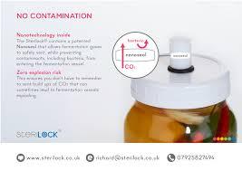 SteriLock fermentation lid. | makesauerkraut.com