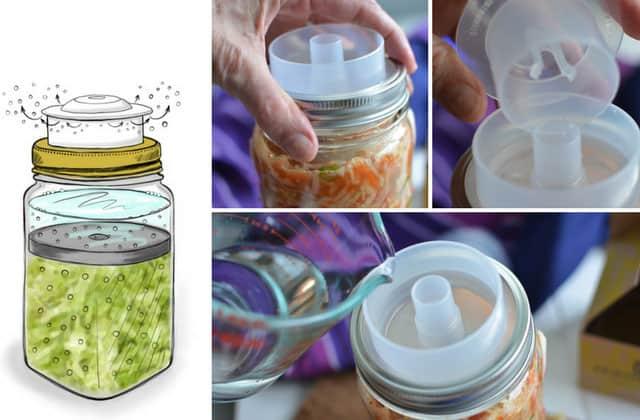 Fermentation lids: Ferment'n. | makesauerkraut.com