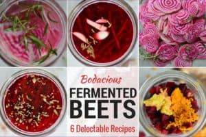 Bodacious Fermented Beets. 6 Delectable Recipes. | makesauerkraut.com