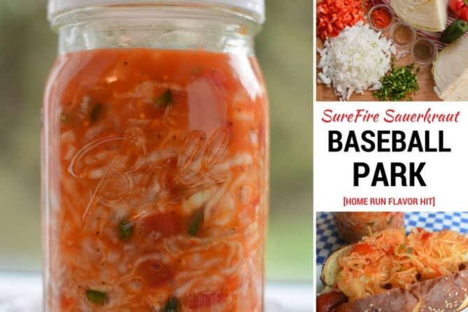 Baseball Park Sauerkraut Recipe. | makesauerkraut.com