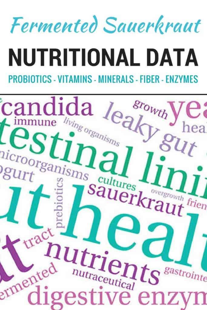 Nutrients and probiotics in sauerkraut. | makesauerkraut.com