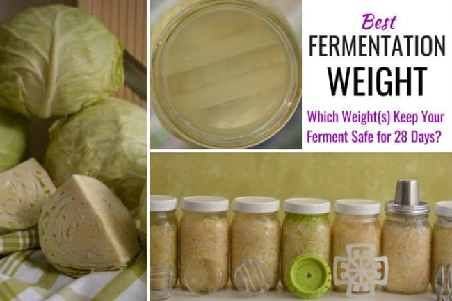 What is the BEST fermentation weight for fermenting in canning jars? | makesauerkraut.com