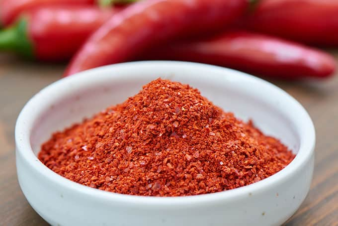 Gochugaru, Korean red pepper powder. | makesauerkraut.com