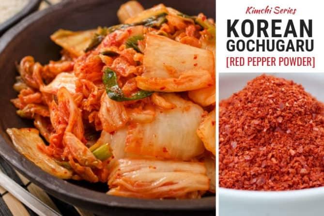 Gochugaru, Korean red pepper powder is a key ingredient in kimchi. | makesauerkraut.com