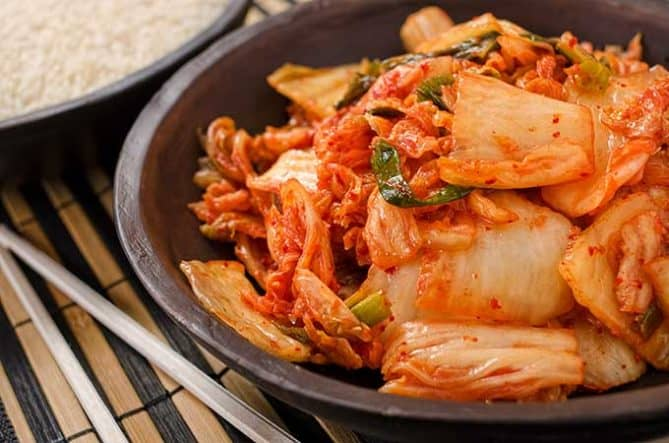 Making traditional Mak Kimchi. The finished dish. | MakeSauerkraut.com