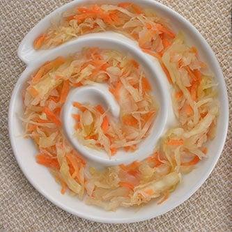 Ginger Carrot Sauerkraut | MakeSauerkraut.com