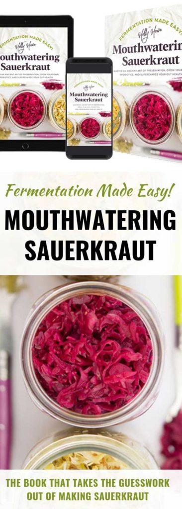 Fermentation Made Easy! Mouthwatering Sauerkraut available in three formats. | MakeSauerkraut.com