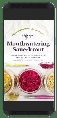 Mouthwatering Sauerkraut kindle format. | MakeSauerkraut.com