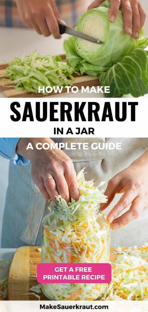How to Make Sauerkraut in a Jar: A Complete Guide