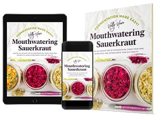 Fermentation Made Easy! Mouthwatering Sauerkraut available in three formats. | MakeSauerkraut.com