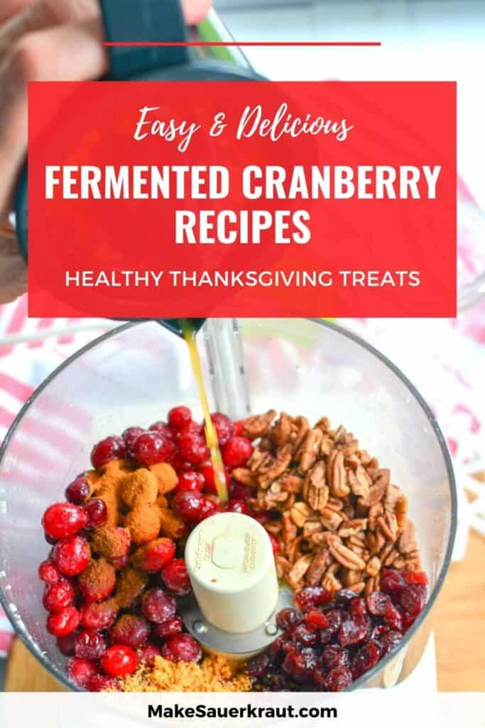 How To Make Fermented Cranberries