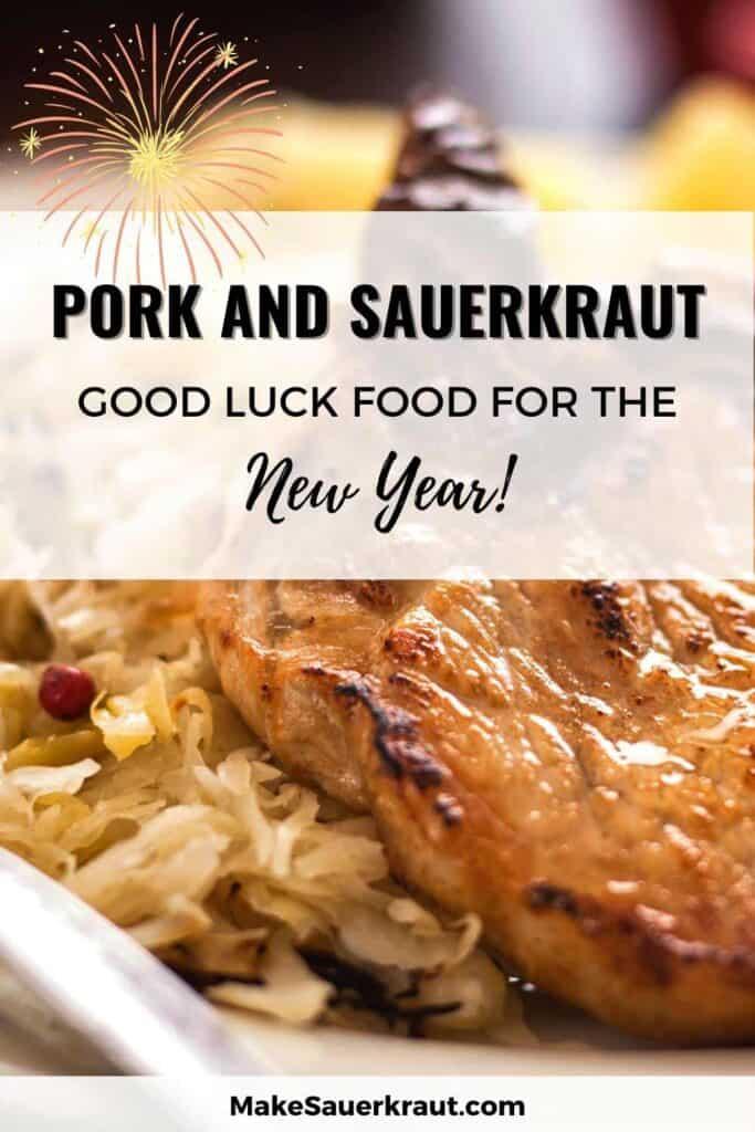 pork and sauerkraut on new year's day